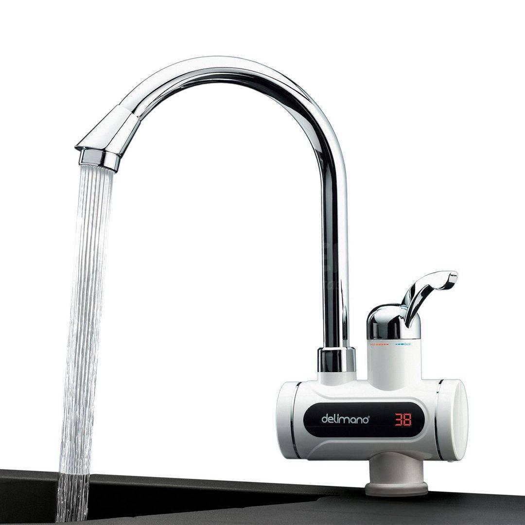 Нагреватель воды проточный электрический на кран: отзывы на водонагреватель делимано, цена