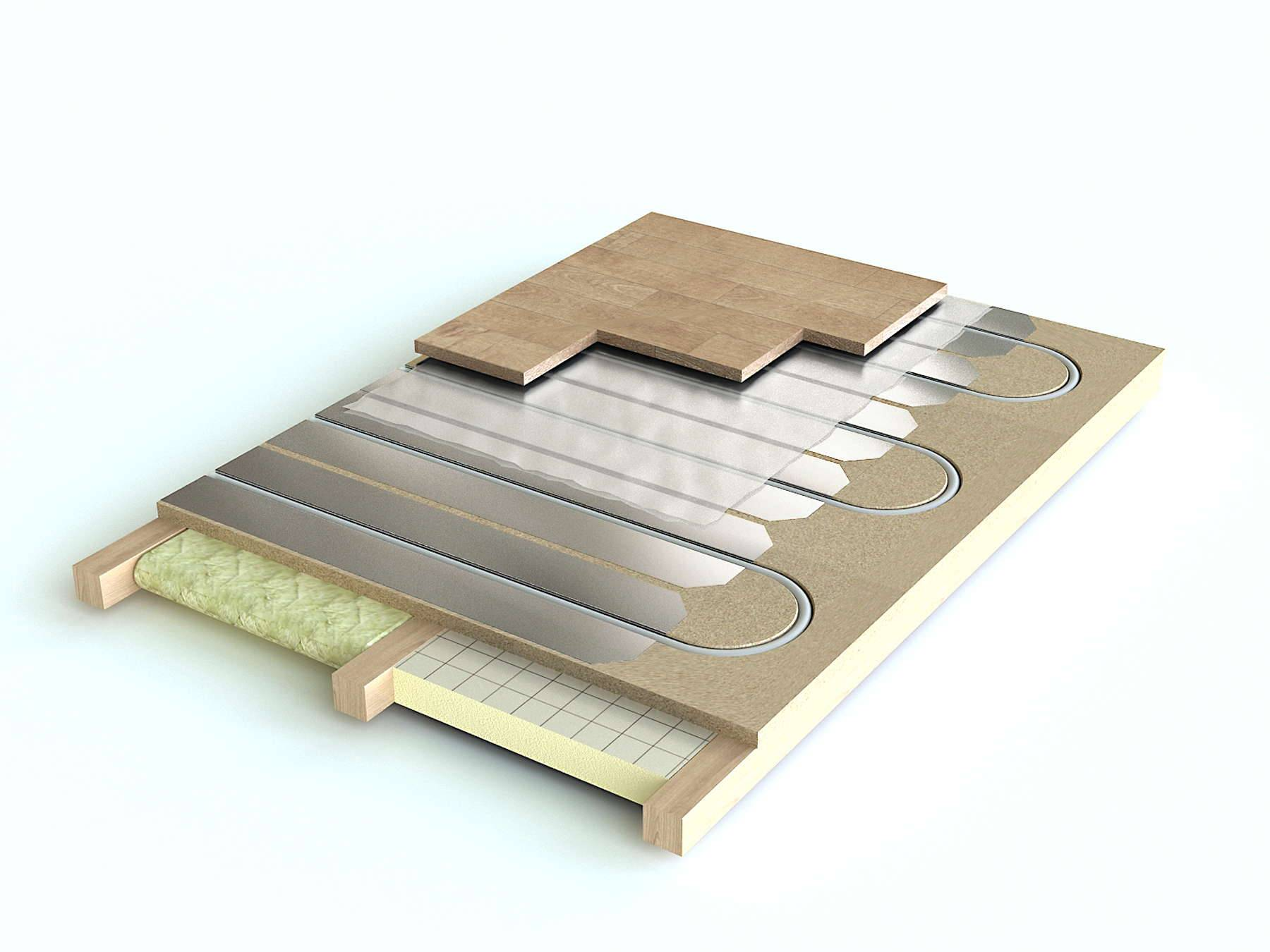 Теплые полы под ламинат: сравниваем электрический, водяной и инфракрасный