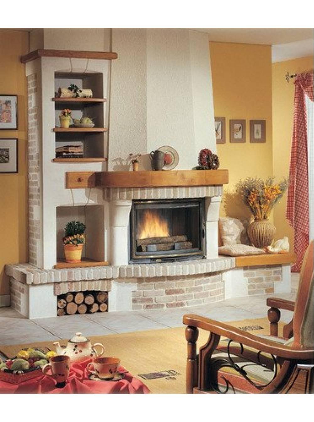 Дизайн каминов в загородном доме (30+ фото) — особенности, рекомендации