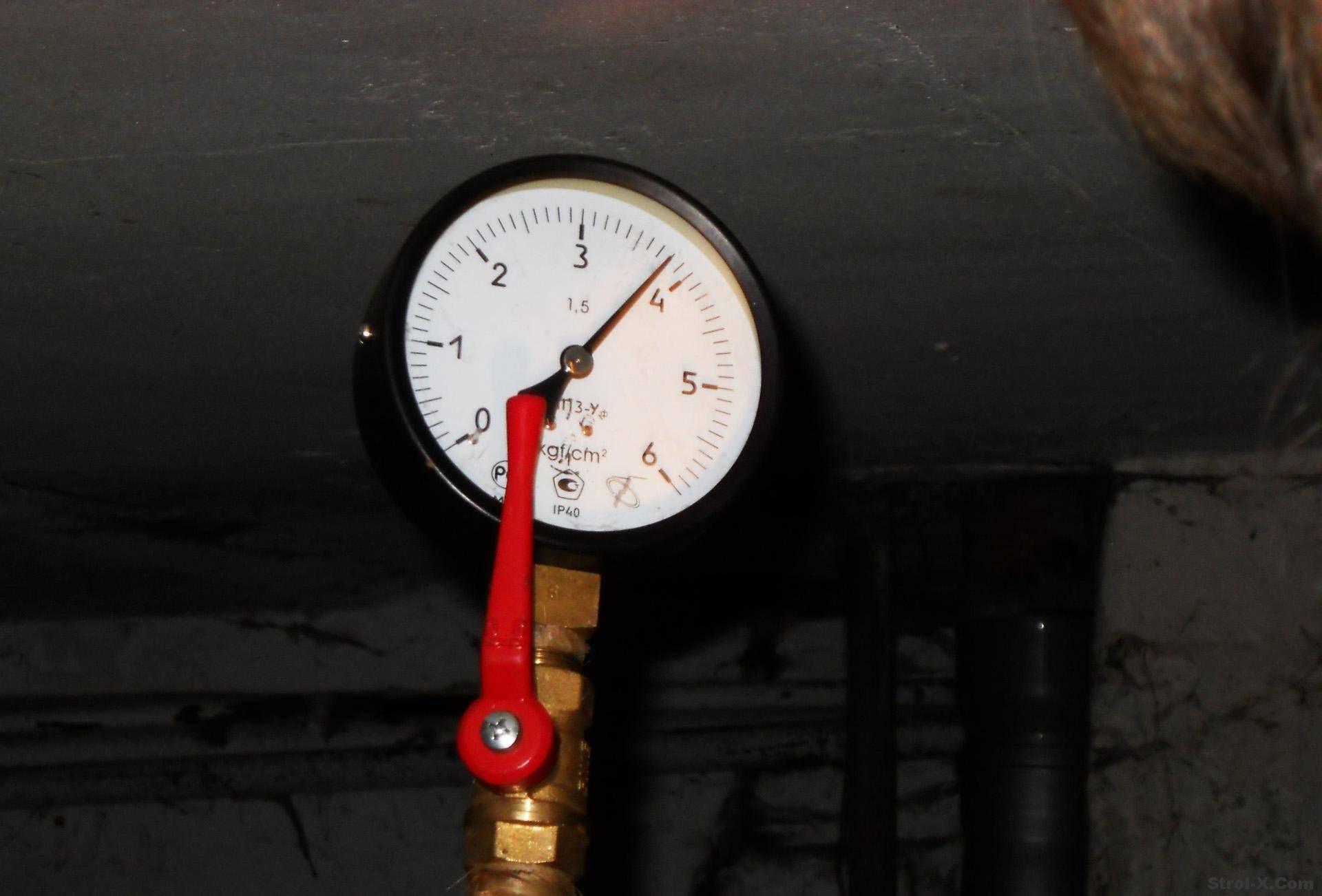 Давление в системе отопления в частном доме: какие должны быть рабочие значения в схеме закрытого типа, зачем нужен манометр