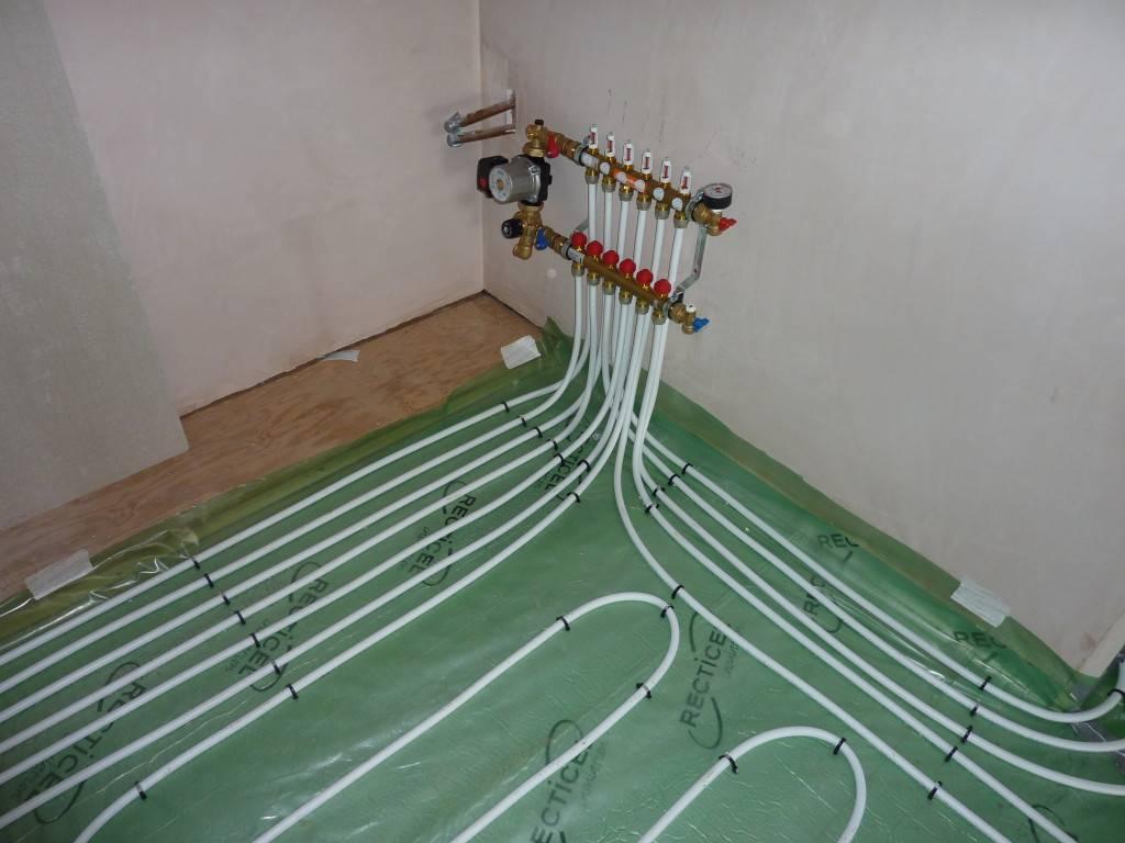 Как в деревянном доме сделать водяной теплый пол без стяжки