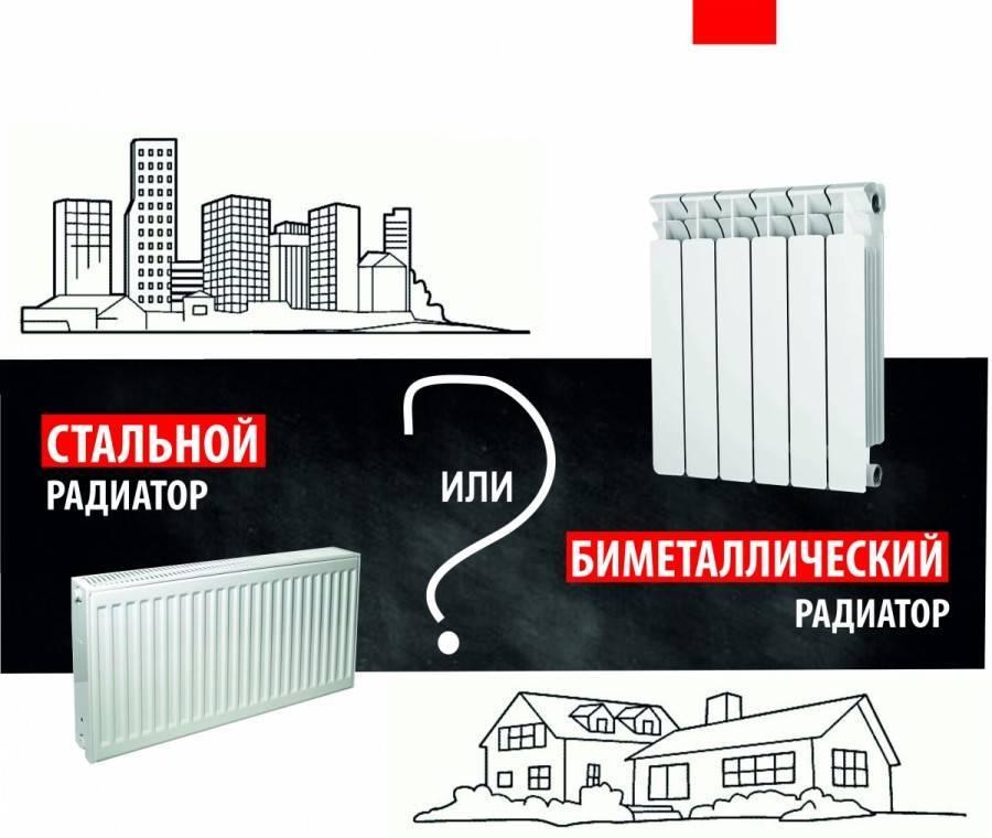 Отличие биметаллических радиаторов от алюминиевых - лучшее отопление