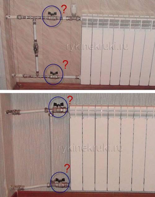 Как включить батарею отопления в квартире: при первой подаче