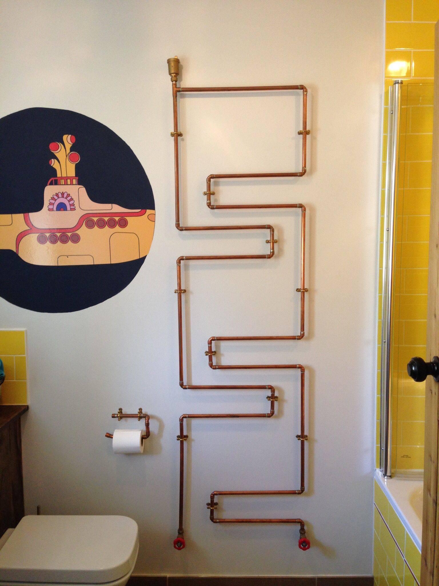 Декорирование труб отопления: как придумать оригинальный дизайн