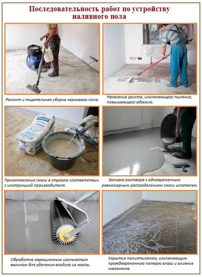 Как сделать цементную стяжку пола  — подробное руководство