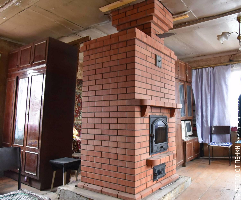 Проекты домов с печным отоплением
