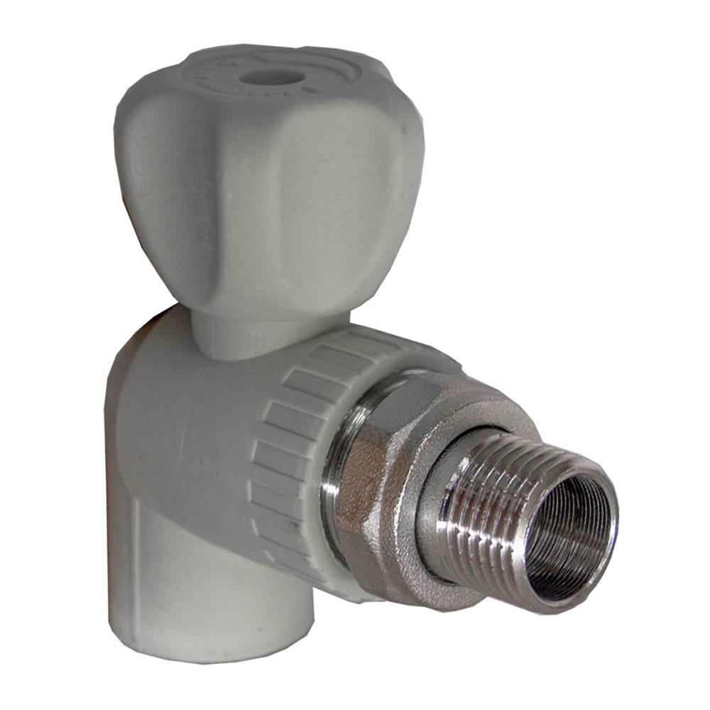 Краны и вентили для радиаторов отопления: регулировочная и запорная арматура