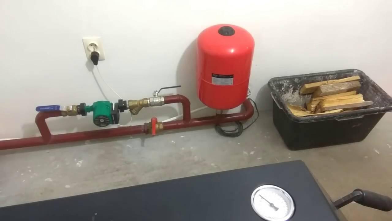 Как залить антифриз в систему отопления