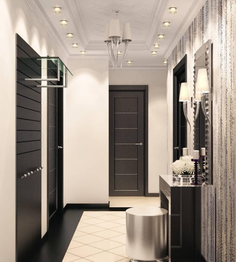 Дизайн коридора и прихожей, особенности отделки