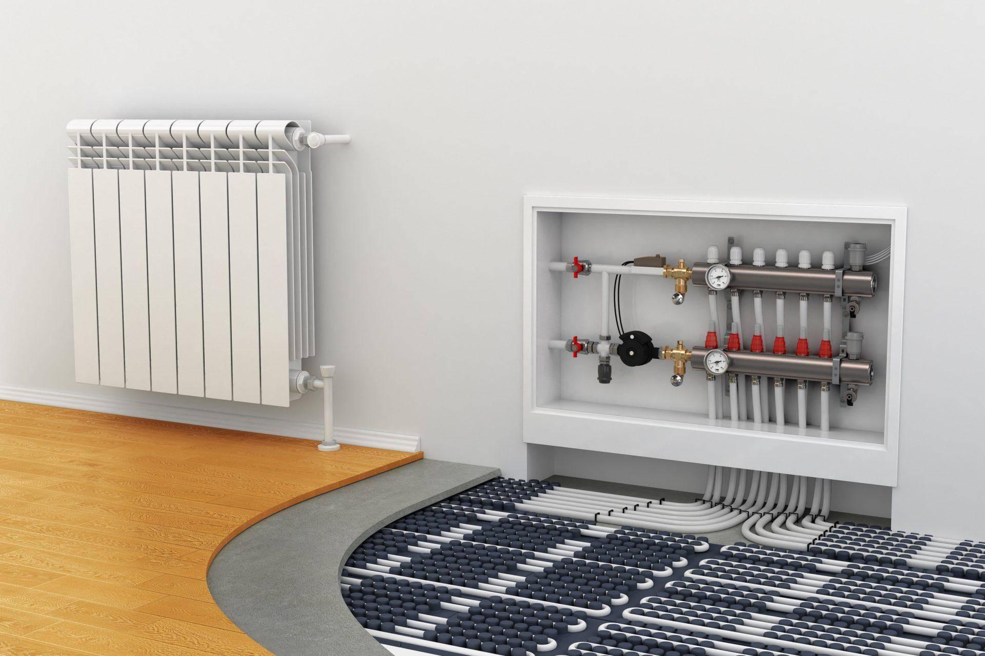 Теплый пол, как основное отопление частного дома. мифы и особенности