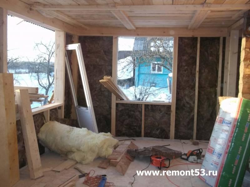 Как утеплить веранду для зимнего проживания своими руками? – ремонт своими руками на m-stone.ru
