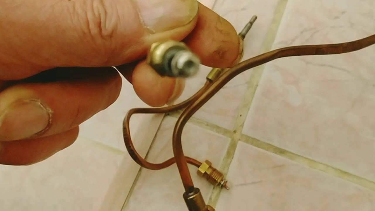 Термопара для газового котла: что это такое и как работает прибор для аогв