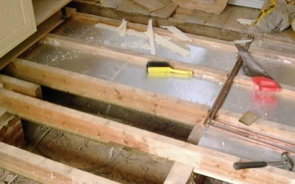 Утепление пола в деревянном доме: делаем утепление пола в доме своими руками