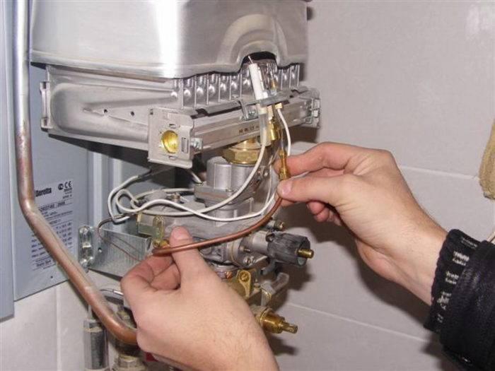 Как запустить газовый котел впервые