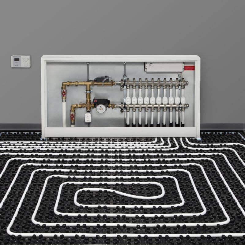 Управление тёплыми водяными полами - отопление и утепление - сайт о тепле в вашем доме
