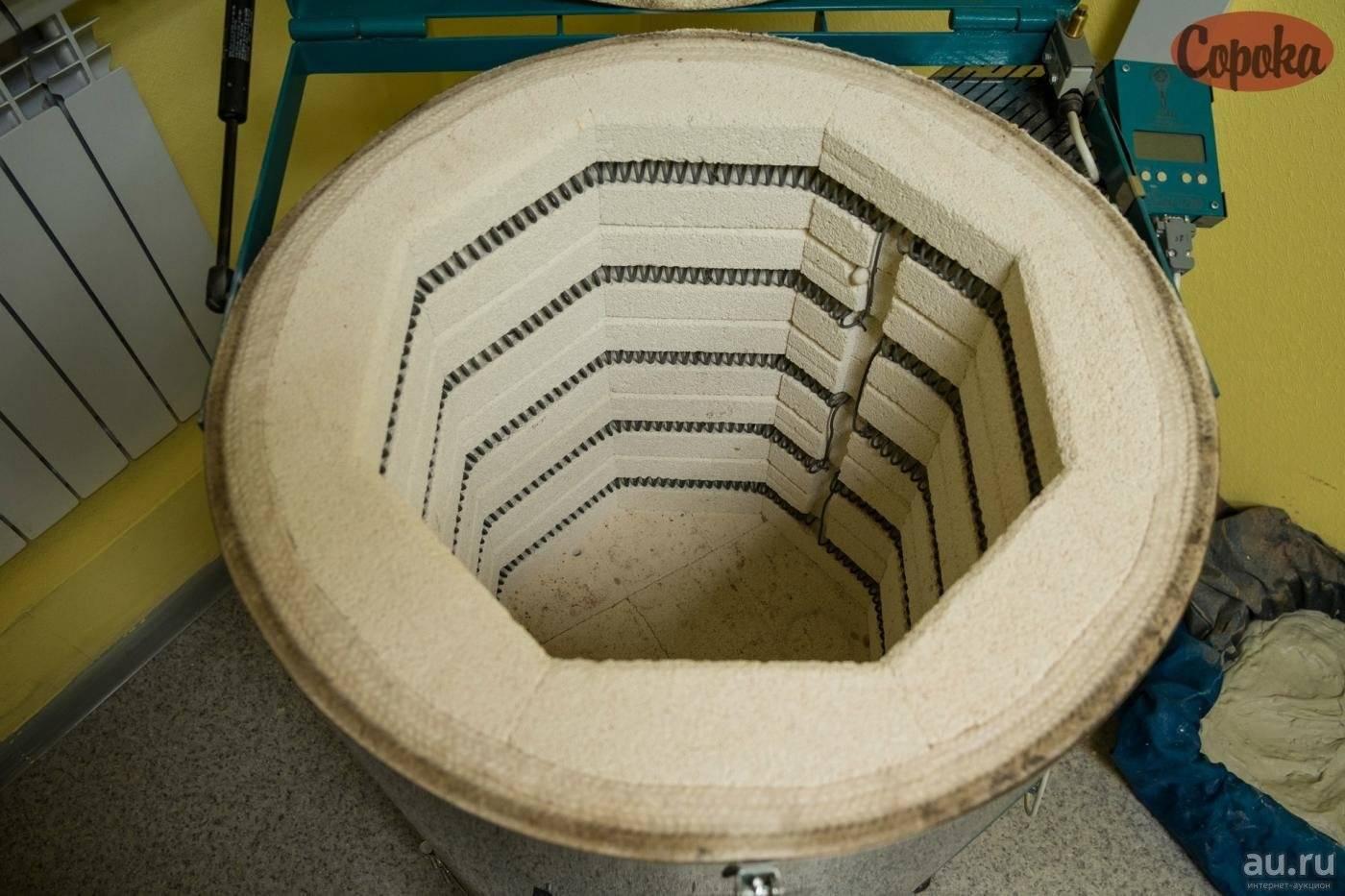 Дровяная печь для обжига глины и керамики своими руками