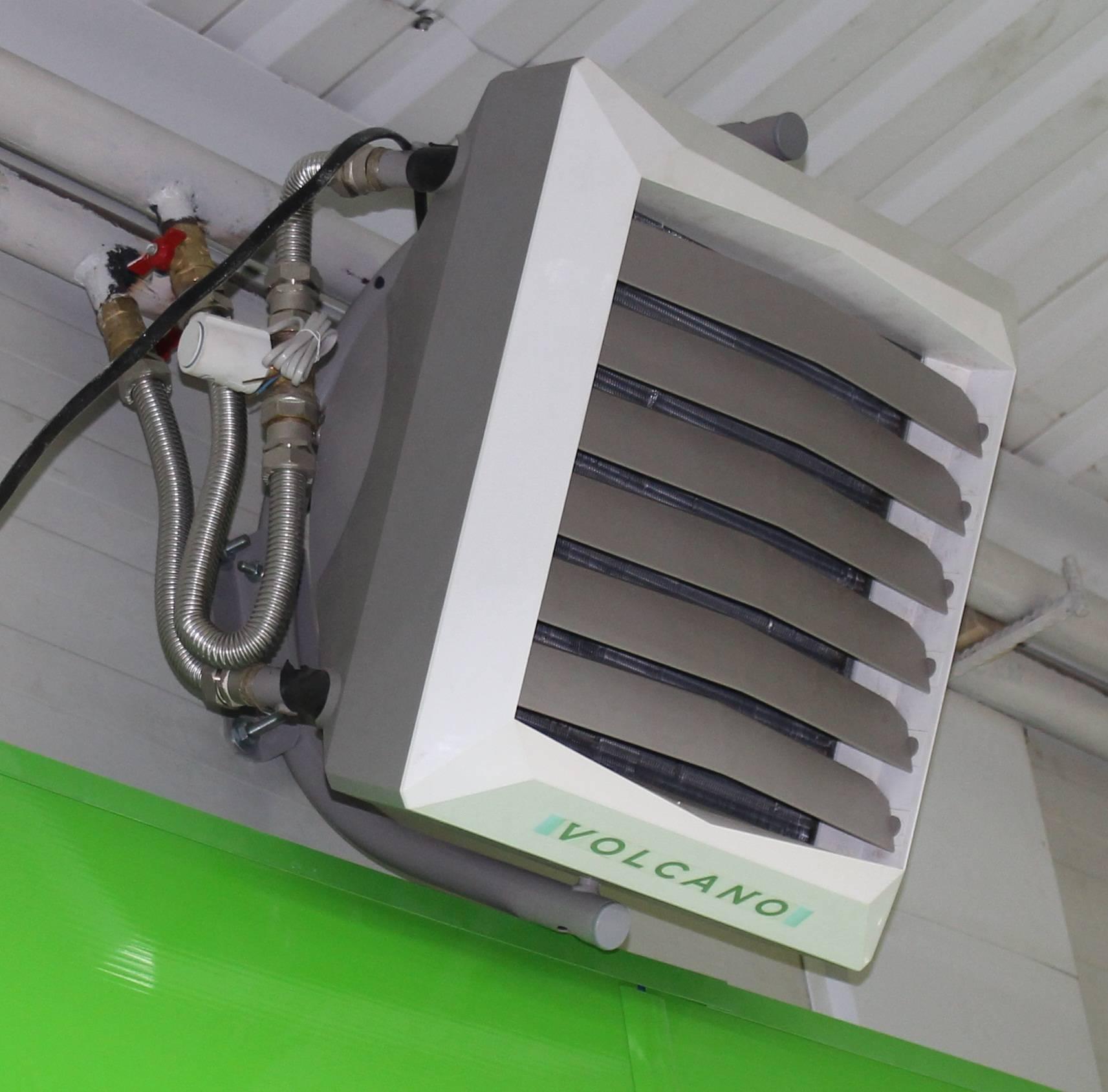 Воздушное отопление: 70 фото промышленного и бытового оборудования