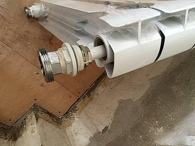 Удлинитель протока для радиатора своими руками - о металле