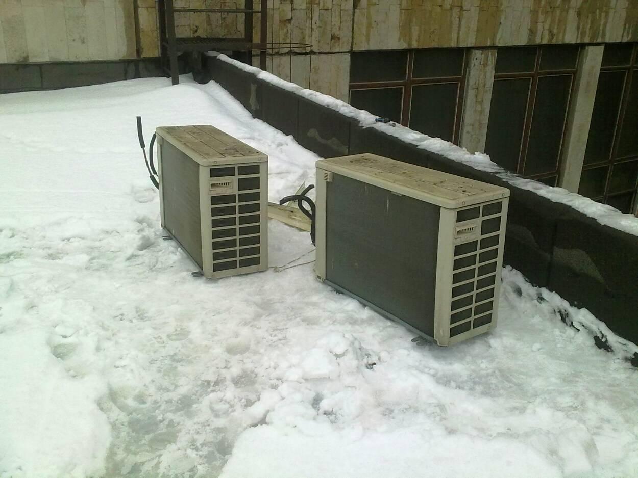 Можно ли включать кондиционер зимой: режим обогрева и охлаждения