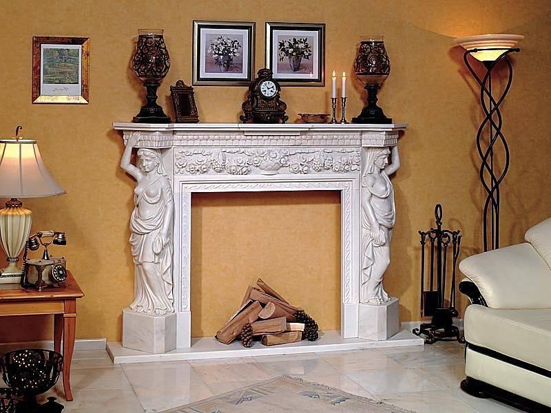 Камин из гипса: декоративные гипсовые порталы, как сделать фальш камин