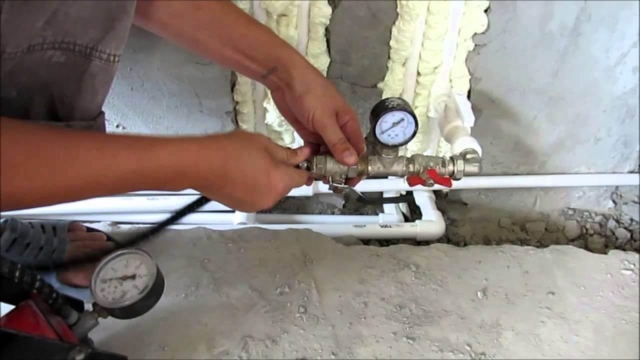 Опрессовка труб канализации и водоснабжения — для чего нужна?
