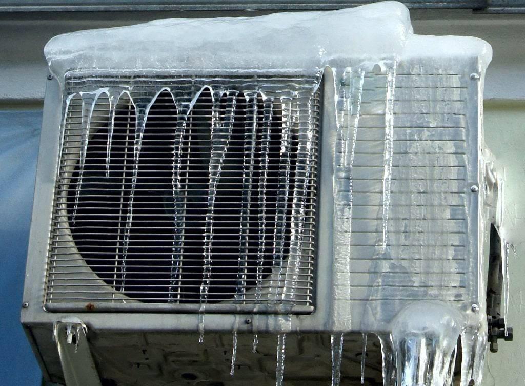 Можно ли включать кондиционер зимой, при минусовой температуре, в мороз