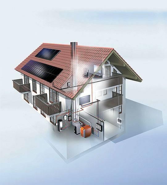 Установка автономного отопления в частном доме