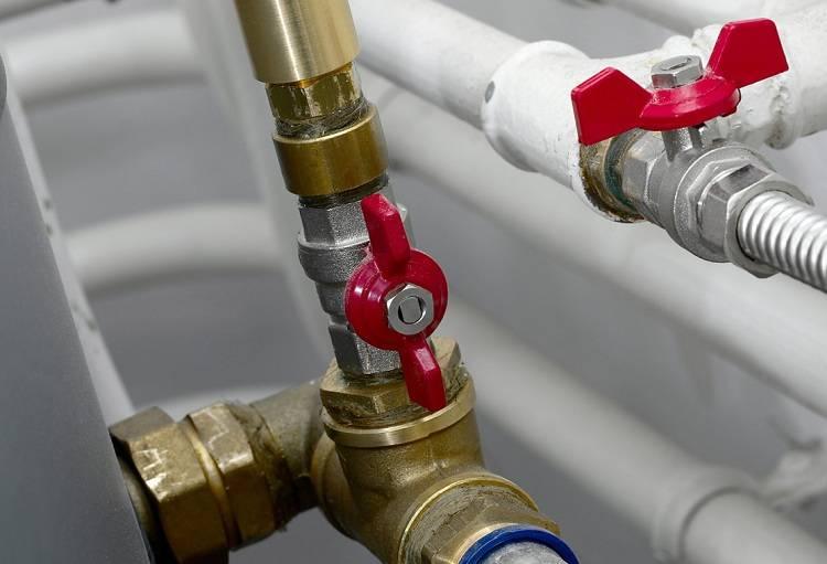 Использование запорной арматуры на отопление