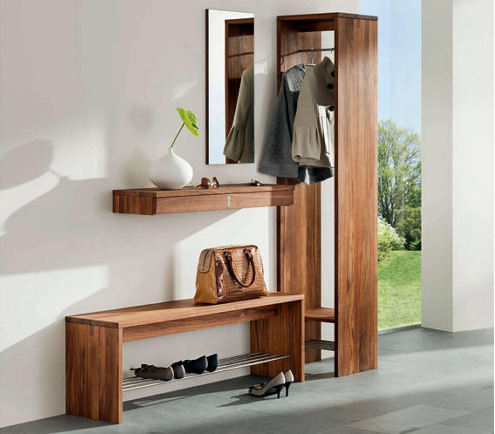 Как подобрать мебель в коридор - материалы, цвет и дизайнерское направление ?