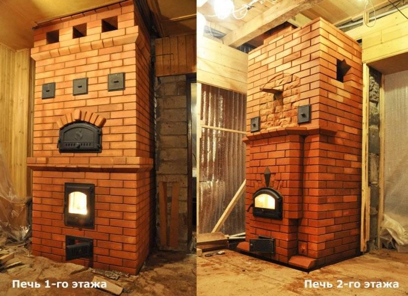Как сделать отопление в двухэтажном доме, отопительно-варочная печь на два этажа своими руками, план, разводка системы: инструкция, фото- и видео-уроки, цена