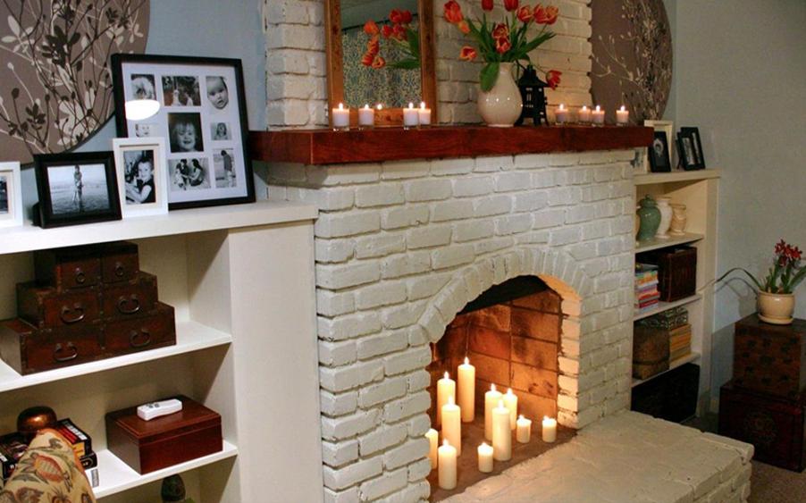 Как сделать фальш-камин своими руками ? дизайн квартиры