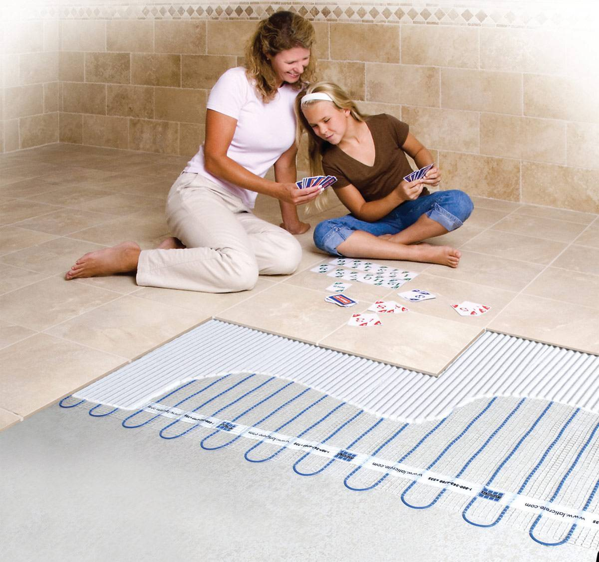 Полная инструкция по монтажу водяного теплого пола своими руками