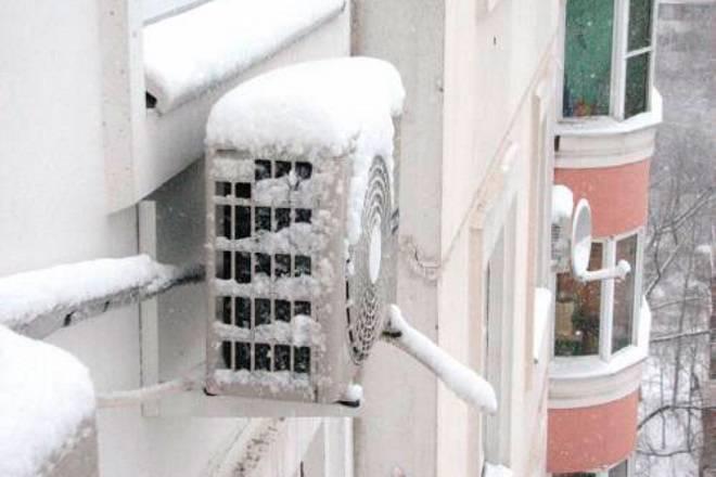 Установка кондиционера зимой: в чем плюсы и особенности