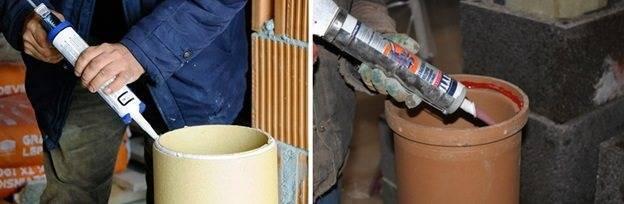 Термостойкие герметики для печей и котлов