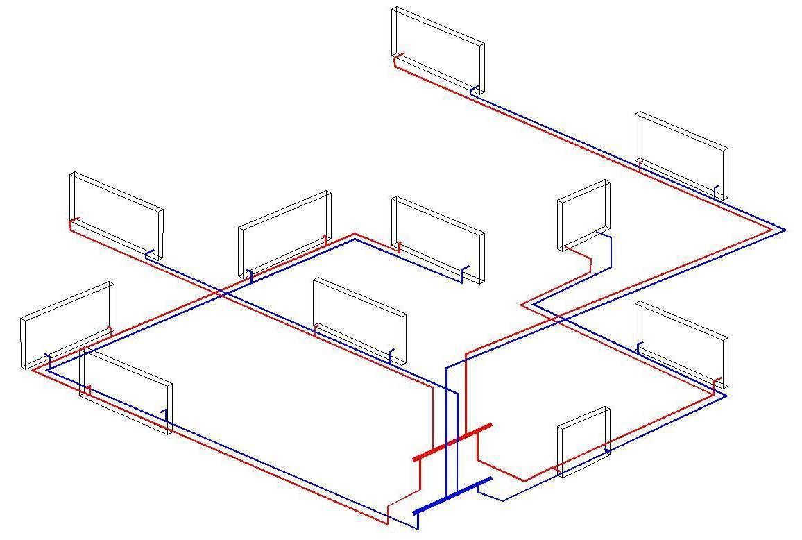 Как сделать отопление полипропиленовыми трубами в частном доме