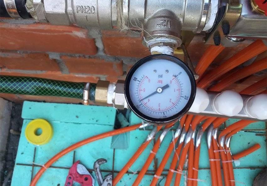 Давление в системе отопления частного дома: давление теплоносителя, воды в закрытой системе, трубах, для чего нужно, как рассчитать, сколько атмосфер, норма, как снизить и создать