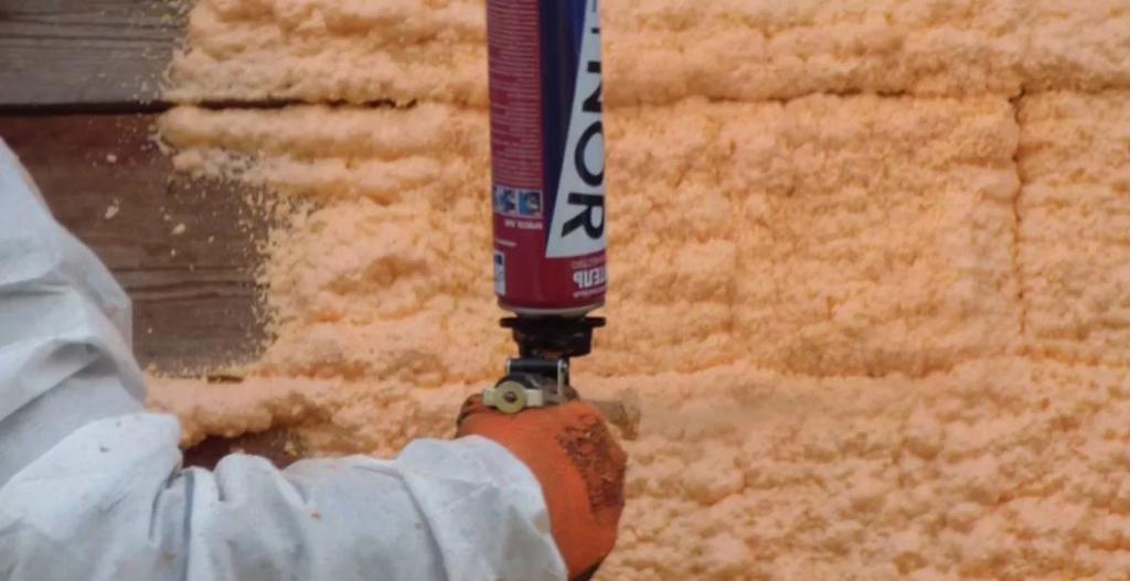 Утеплитель пенный для стен в баллонах - клуб мастеров