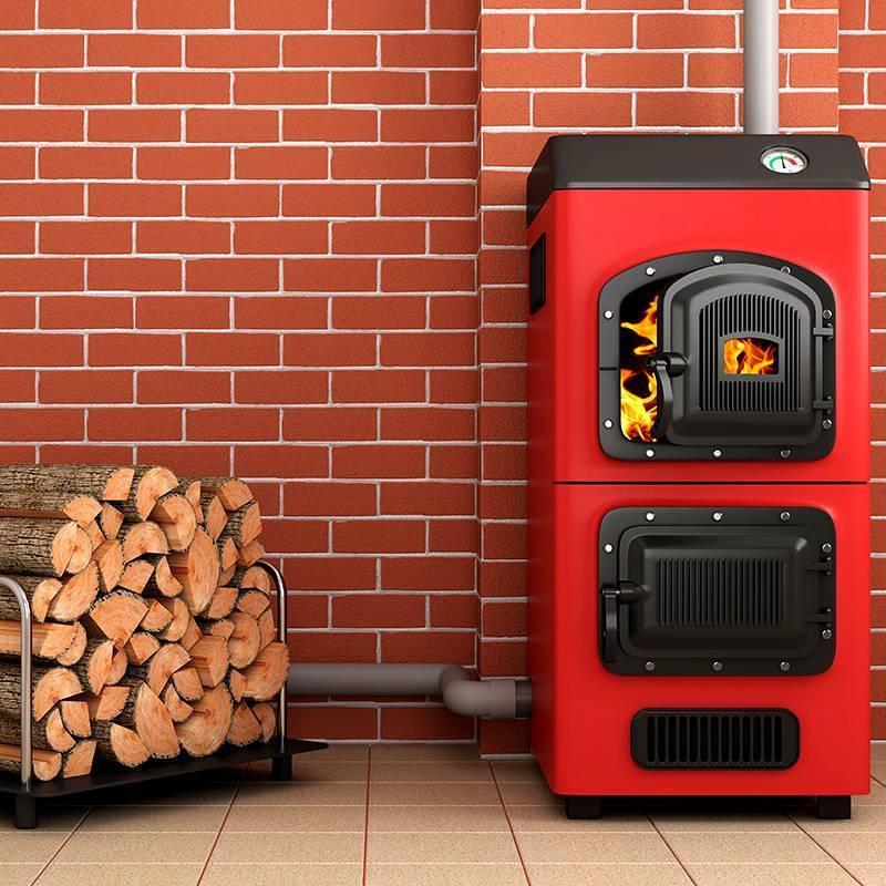 Печи длительного горения с водяным контуром: отопительные печки долгого горения, самодельная твердотопливная печь на дровах медленного горения, дровяная чугунная