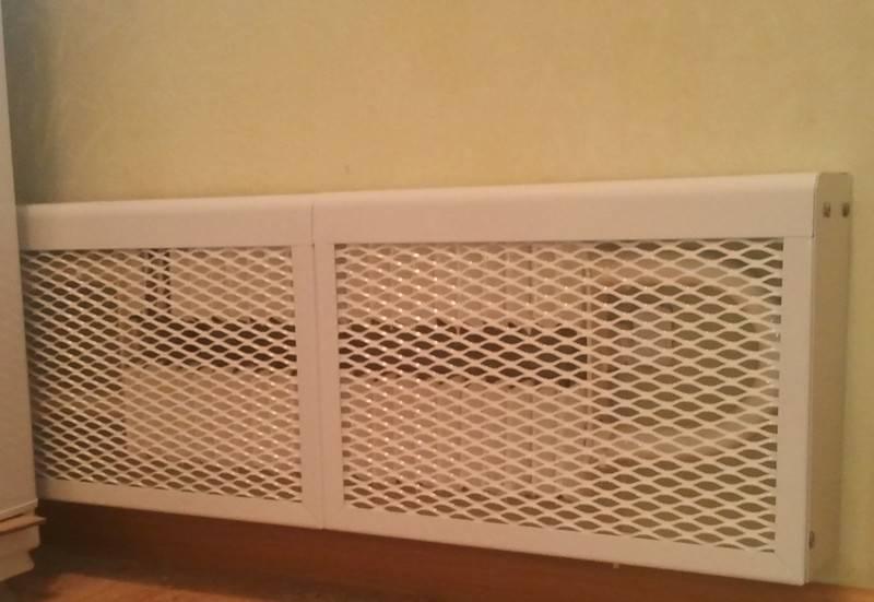 Решетки для конвекторов: как установить экран на конвектор отопления? особенности рулонных решеток