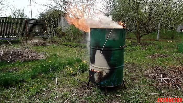 Печь для сжигания мусора на даче из кирпича своими руками – печь из кирпича для сжигания мусора: пошаговая инструкция