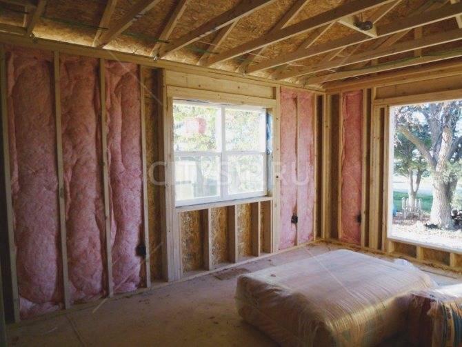 Утепление веранды в деревянном доме