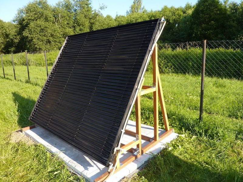 Солнечный водонагреватель своими руками: как сделать и установить дома