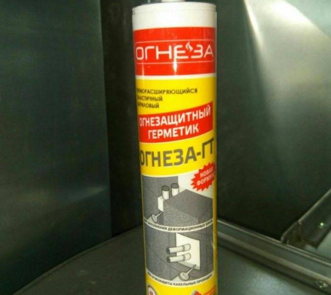 Высокотемпературный герметик для печей: виды, какой выбрать