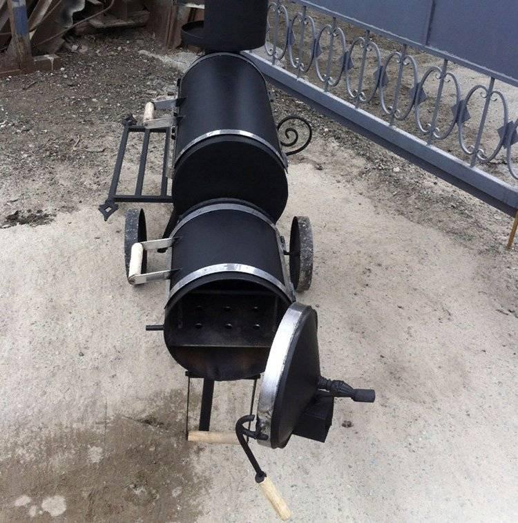 Мангал и барбекю своими руками из газового баллона. фото, видео