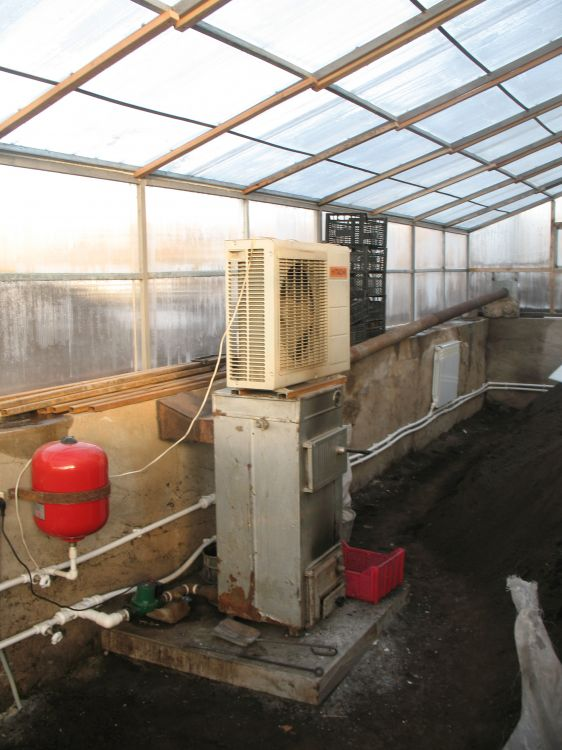 Отопление теплицы из поликарбоната зимой