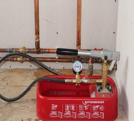 Опрессовка системы отопления своими руками: способы и средства