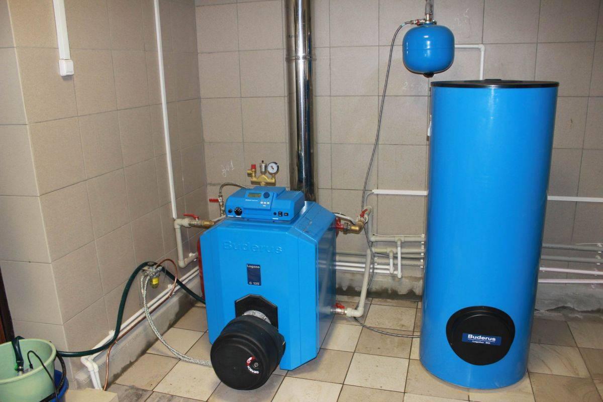 Устройство и расход топлива дизельного котла отопления для дома