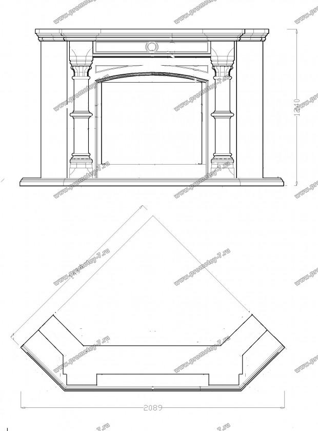 Камин из гипсокартона своими руками: пошаговая инструкция по изготовлению