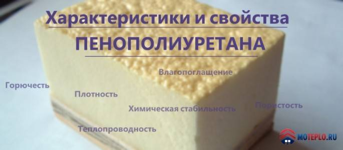 Свойства пенополиуретана и особенности его применения