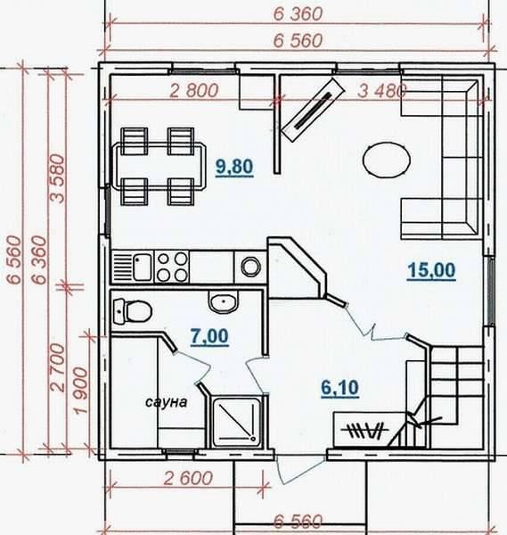 Проект дома с печным отоплением: планировка загородного дома с отопительной печью, виды системы на фото и видео
